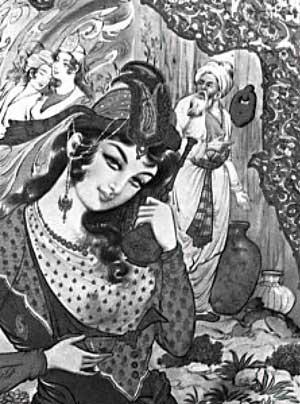 Leyla danser for Hafez