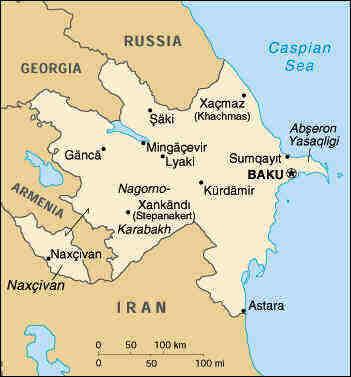 aserbajdsjan kart Det store spillet   enda en gang (Geopolitikk og olje ved Kaspihavet) aserbajdsjan kart